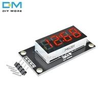 TM1637 Módulo De Pantalla LED de tubo Digital de 4 Bits con pantalla de reloj módulo cronometrador Pantalla de 7 segmentos