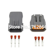 5 Sets 3 Pin Female And Male Sumitomo Waterproof Cable Connector For Nissan Mazda RX8 Ignition Coil with terminal