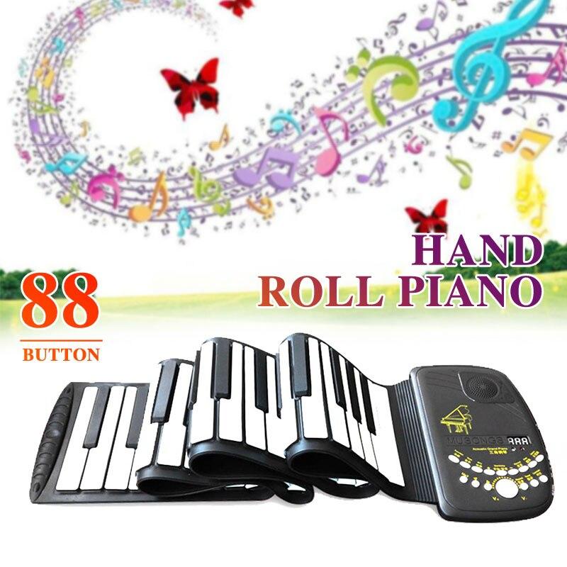 D88K10 88 touches clavier électronique Piano avec haut-parleur Flexible