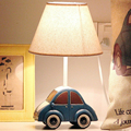 Car Mode Kids Led Desk Lamps E14 110V-220V Children Room Bedside Lamp Switch Button Laptop Table Light Study Reading Led Lamp