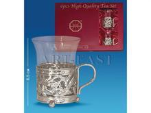 AR-1194 Чайный набор серебр. (Юнион)