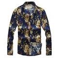 SAF-New Linen flax long sleeve slim fit Casual Men's shirts men Dress chemise homme camisa masculina CS09