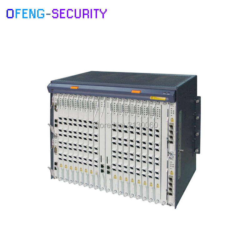 ZTE ZXA10 C300 GPON OLT with 2*PRWG,2*SCXM,2*HUVQ use for GPON/EPON Equipment ...