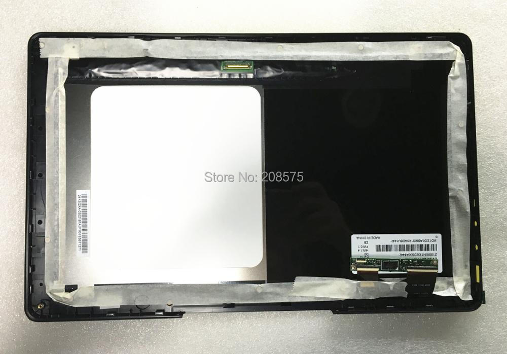 Free shipping 100 NEW M133NWF2 R0 Lcd Touch Screen Digitizer Assembly With Replacement For Asus Transformer