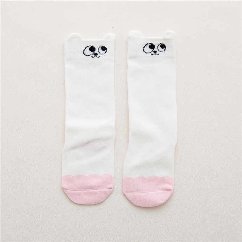 1e0bea54b ... 0-4Y Cartoon Pusheen Cat Fox Kids Knee Girl Boy Baby Toddler Socks  Animal Infant ...