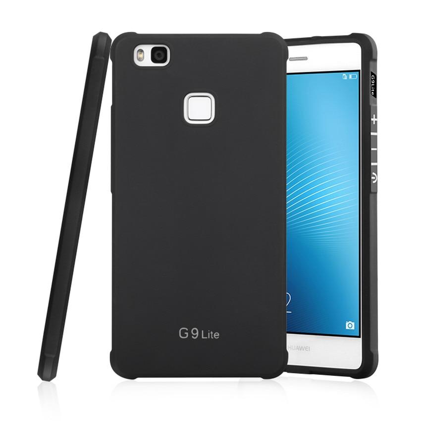 Για Huawei P9 Lite Case Πολυτελές Carbon Fiber Soft - Ανταλλακτικά και αξεσουάρ κινητών τηλεφώνων - Φωτογραφία 1