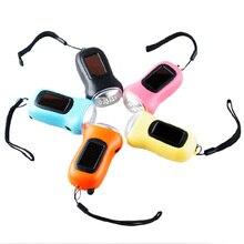 Keychain Mini lantern rechargeable torch,Dynamo LED flashlight,Solar Hand Crank led flashlight,Solar mini flashlight for camping