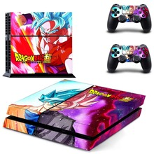 DRAGON BALL Z PS4 Console Protective Vinyl Skin Decal Cover for Sony Playstation 4 & Two Wireless Controller Stickers