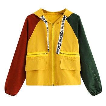 KANCOOLD Autumn 2018 Women Bomber Basic Jacket Fashion Long Sleeve Zipper Coat Lady Patchwork Top Casual Clothing Outwear PJ0807 Куртка