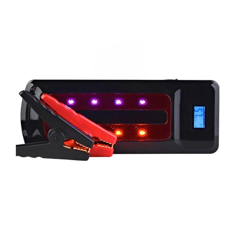 Démarreur de batterie externe de démarreur de saut de voiture portatif de 12 V 22000 MAh pour le chargeur de secours de batterie de voiture
