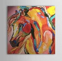 Peint à la main moderne peinture à l'huile abstraite cheval mur toile Art Home décoration toile mur photos pour salon chambres pas de cadre