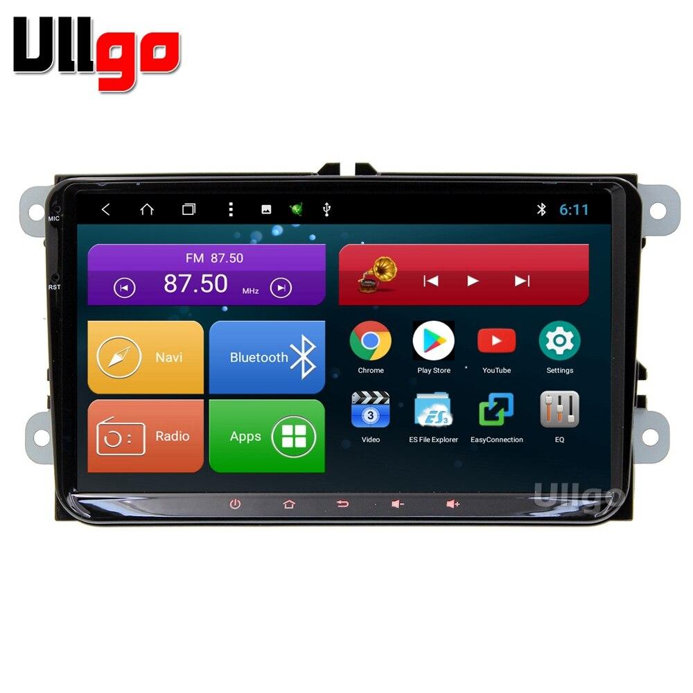 9 pouce Octa base Android 8.1 Unité De Tête de Voiture pour Volkswagen Passat Magotan CC Autoradio GPS avec BT Radio RDS miroir-lien Wifi