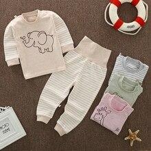 Newborns Baby pajamas set Toddler Girl Child Clothes Underwear baby boys pajamas sets winter cartoon clothes sleepwear Coat Pant