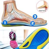 KOTLIKOFF/кроссовки большого размера, спортивная обувь для бега, стелька для обуви, подошва, силиконовый гель, мягкая эластичная пятка, стельки д...