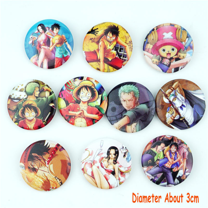 Hot Anime Boku no Hero Academia badge badges pin buttons 4pcs//set cosplay 5.8cm