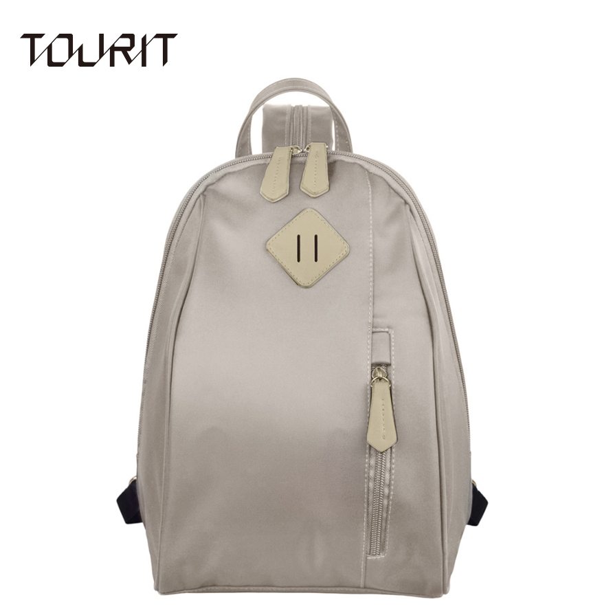 TOURIT Women Backpack 2017 New Ladies Shoulder Bag Nylon Printing Backpacks School Bags For Teenage Girls Canvas Book Bag Women tourit 2016 new canvas printing backpack women school bags for teenage girls cute bookbags vintage laptop backpacks female