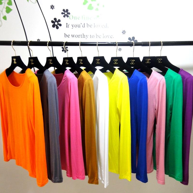 (20 Teile/los) Muslimischen Long Sleeves T Shirts Können Farben Wählen Om406