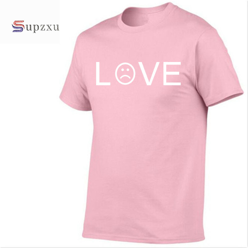 2018 new summer men women love t shirt short sleeve 100% cotton t shirt fashion hip hop loose t-shirt tops tees brand clothing