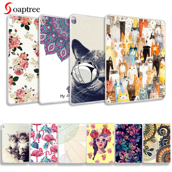 Painted Tablet Case For Lenovo Tab E10 Case Silicone Soft TPU Back Cover For Lenovo TAB E10 E 10 TB-X104F 10.1 inch Bumper Funda silicon case for lenovo tab e10 10 1 tablet cover funda tb x104f tb x104f tb x104l soft folding full body protect stand shell