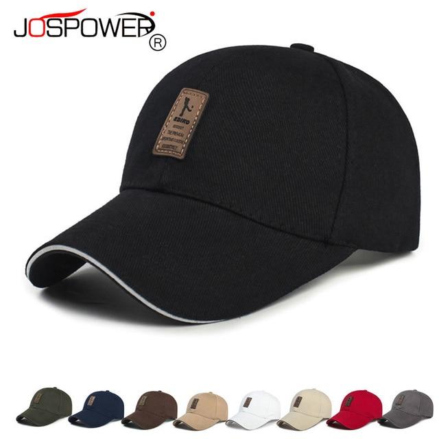 3fe83ad89bb JOSPOWER New Men Baseball Cap Sunscreen Hats Cycling Traveling Sport Caps  Summer Mens Hat casquette gorras