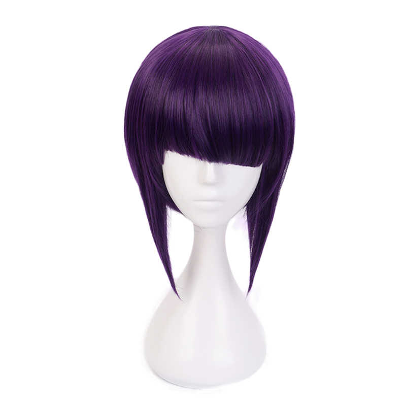 Meu herói academia kyoka jiro feminino peruca curta cosplay traje boku nenhum herói academia resistente ao calor perucas de festa de cabelo sintético