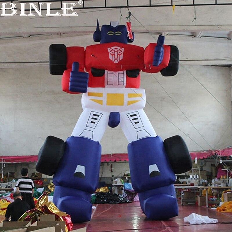 Китайский Производитель Смешно Гигантские Надувные Робот персонажи мультфильмов для рекламных