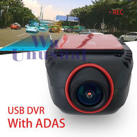 Universal Car Front Dash Camera USB DVR micro SD slot for Android stereo ADAS