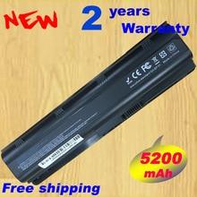 HSW Batería de 4400mAh para HP Compaq Pavilion G6 G4 G7 DM4 DV3 DV5 DV6 DV7 CQ42 CQ43 CQ72 MU06 2009 001 hstnn lb0w hstnn yb0w