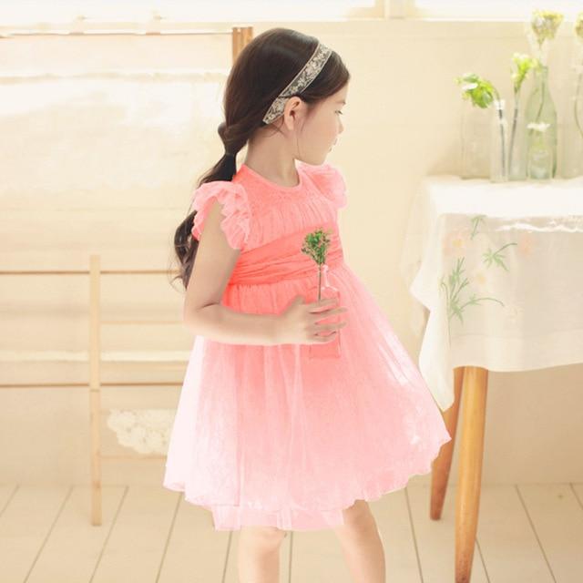 56d3cc7f7 Anlencool High quality Korean children clothing girls dress thin ...