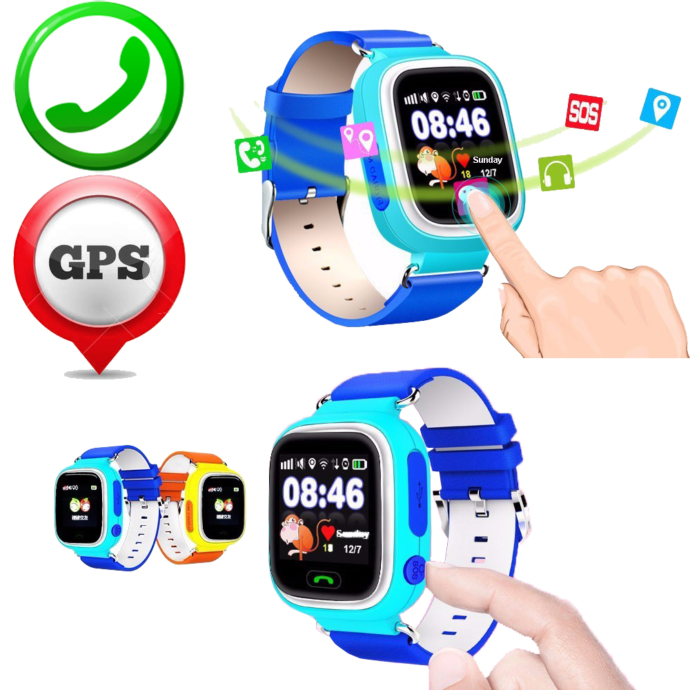 Children ZW32 font b Smart b font font b Watch b font GPS GSM WiFi SOS