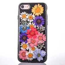 Creative flower really flowers eternal life for iPhone7/6s/plus mobile phone shell case protective shell hard shell female