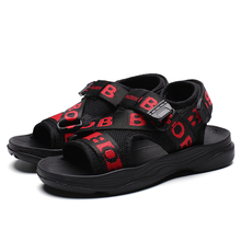 SKHEK Kid Sandals 2019 Summer Childrens Baby Boy Girls Shoes Antiskid Slip-on Soft Boys