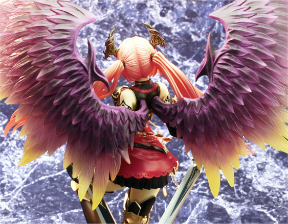 28cm Rage Of Bahamut Dark Angel Olivia Ani Statue Sexy Action Figure PVC Collection Model toys brinquedos for christmas gift