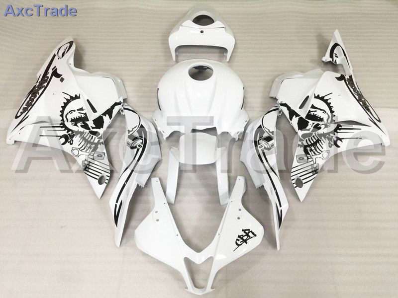 Motorcycle Fairings For Honda CBR600RR CBR600 CBR 600 RR 2009 2010 2011 2012 F5 ABS Plastic Injection Fairing Bodywork Kit White motorcycle front upper fairing headlight holder brackets for honda cbr600rr cbr600 rr cbr 600 rr 2007 2008 2009 2010 2011 2012