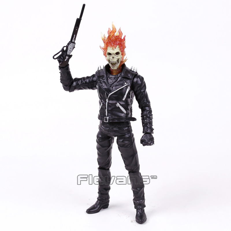 Marvel Ghost Rider PVC Action Figure Collectible Model Toy 23cm neca planet of the apes gorilla soldier pvc action figure collectible toy 8 20cm