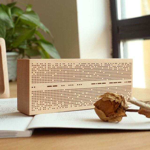 Venta Haya Música Madera Juguete De Caja En Morse Contraseña f6gbyvY7
