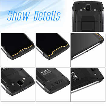 "Cubot KingKong 4400mAh IP68 Waterproof Dustproof Shockproof MT6580 Quad Core 5.0\""Android 7.0 Cellular 2G RAM 16G ROM Smartphone"