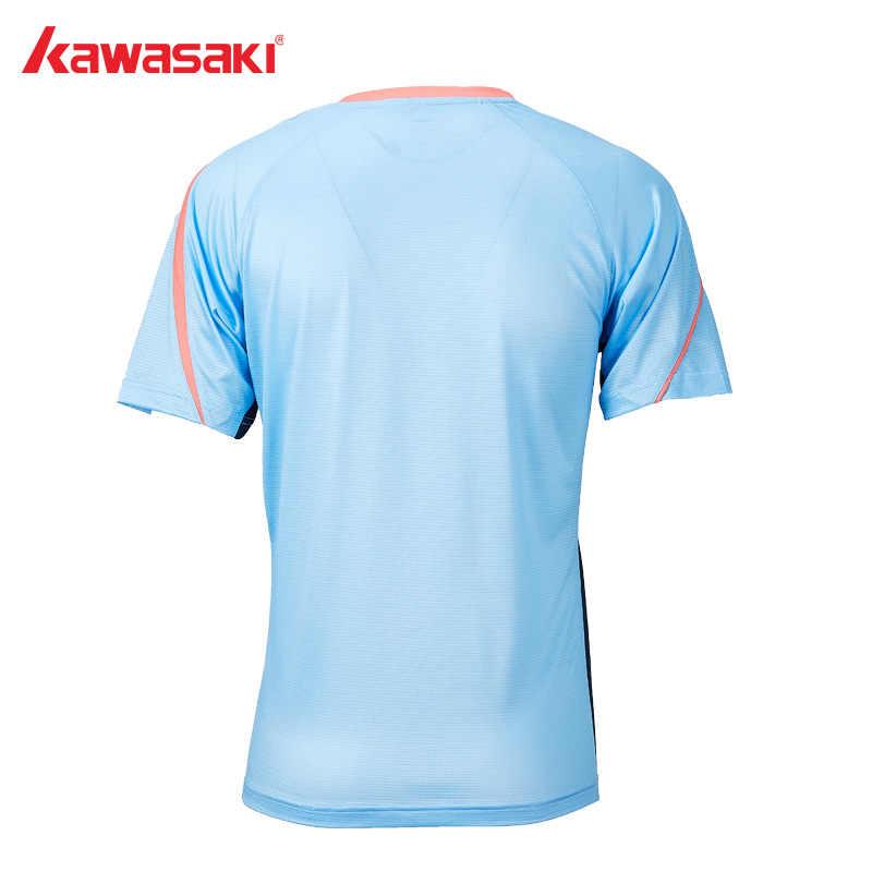 2019 Kawasaki Badminton T-Shirt Men Table Tennis Training  Shirt Breathable Quick Dry Short-Sleeve T-shirt For Male ST-S1112