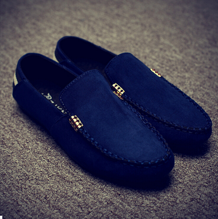 Vintage Land Rover Mens Loafer Driving Moccasin Brown: Men Shoes Leather Suede Casual Driving Shoes Moccasins