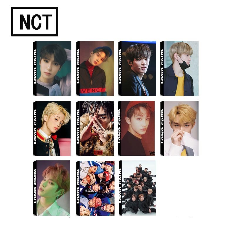 Novelty & Special Use Costume Props Trend Mark Kpop Seventeen Postcard Set The8 Hoshi Collective Photocards Diy Sticker 200pcs