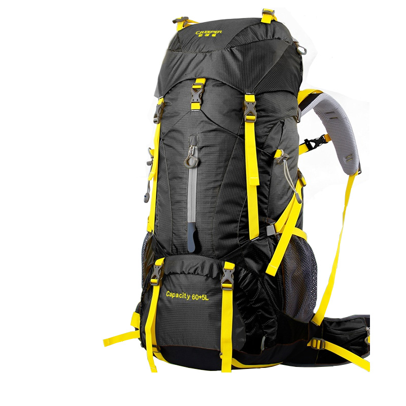 1750g heavy outdoor professional mountaineering backpack 60 + 5L only go mountaineering package camping camping hiking supplies женские часы go girl only go 698397