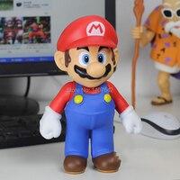 25 см Супер Марио Игры Косплей Коллекция Модель ПВХ Мультфильм Фигурки Игрушка для Детей Подарок На День Рождения
