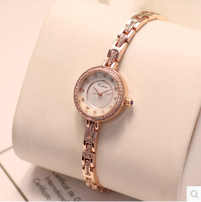 Luxury Brand KIMIO Women Watches Rhinestone Clock Gold Ladies Quartz Wristwatch Waterproof Women's Watches Relogio Feminino 2017 kimio brand bracelet watches women reloj mujer luxury rose gold business casual ladies digital dial clock quartz wristwatch hot