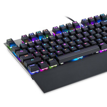 Mechanical Keyboard with Wrist Support