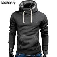 2017 New Fashion Mens Hoodies Brand Men Lattice Jacquard Sweatshirt Male Hoody Hip Hop Autumn Winter