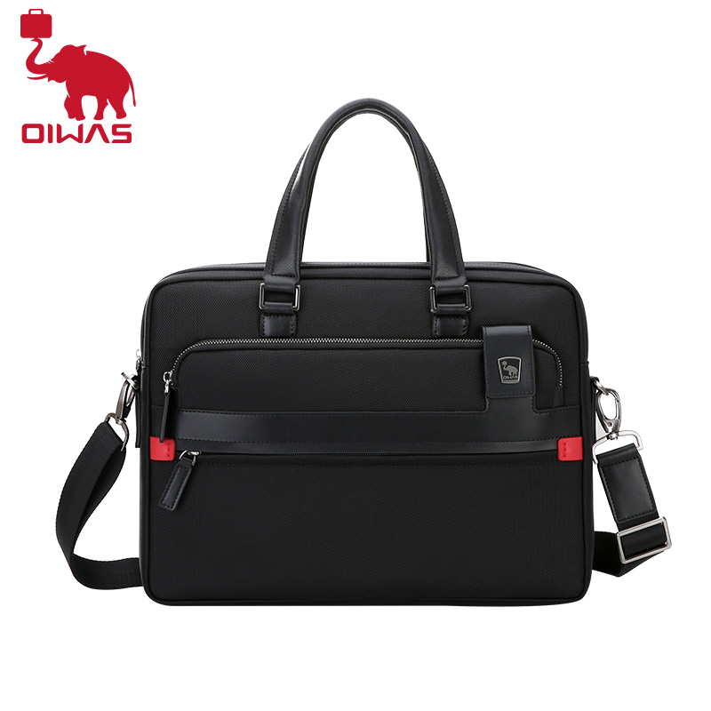 OIWAS Briefcase Laptop Notebook Bag Waterproof Messenger cross-body Shoulder Bag for 14 Inch Laptop OCG3091 notebook bag laptop messenger 11 12 13 14 15 for macbook air 13 case lenovo samsung dell asus waterproof travel briefcase