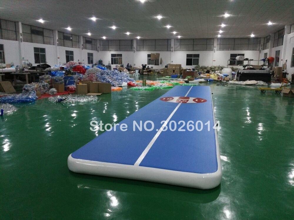 Free Shipping 12*2 Inflatable Mat Gymnastics Air Track Taekwondo Air Cushion Martial Arts Training Jumpinflatable Gym Air Track free shipping 6 2m inflatable gym air track inflatable air track gymnastics