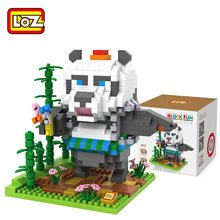 LOZ Panda beauty ego nero legoe star wars duplo lepin brick minifigures ninjago guns duplo farm castle super heroes playmobill