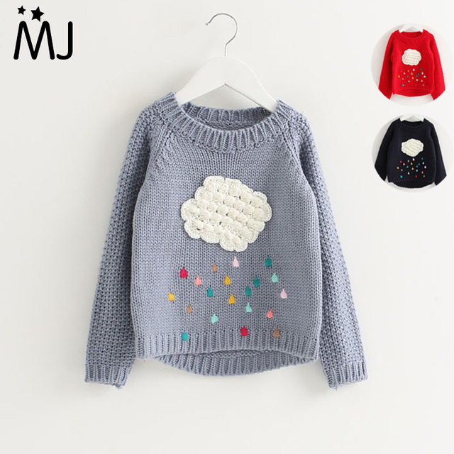 871e7159d 2017 New Spring and Autumn Children  s Clothing Clouds Sweater ...