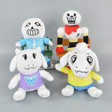 Quality Kawaii Undertale Sans Papyrus Asriel Toriel Temmie Stuffed Plush Toys 20 30CM Undertale Cosplay Toy